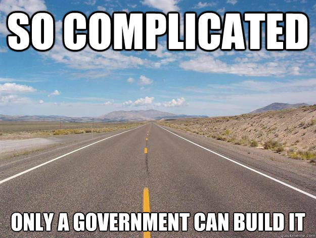 Roads-so complicated